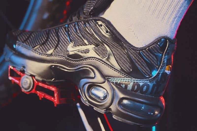ナイキ エアマックスプラス マーキュリアル Nike Mercurial Tn 2019 Release black white branding just do it swoosh football air max plus white black checkered pattern soccer