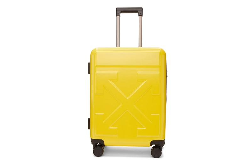RIMOWA とのコラボレーションも記憶に新しい Off-White™️ が オリジナルのスーツケース3型をリリース Off-White Arrows Suitcase Release SSENSE Suitcases Luggage