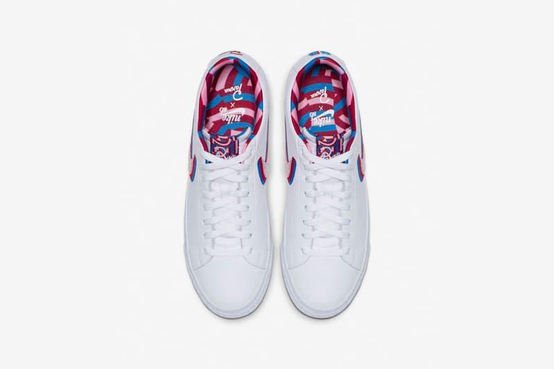 The Parra x Nike SB Dunk Low Gets Release date pop up tokyo nike sb dojo blazer ナイキSBとパラのコラボによる新作スニーカーを発売 ポップアップ Nike Sb Dojo