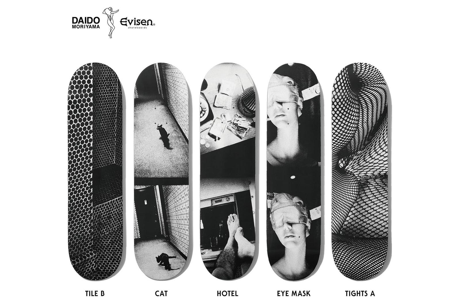 キューコン qucon 写真家 daido moriyama 森山大道 コラボレーション コラボ コレクション evisen Skateboards