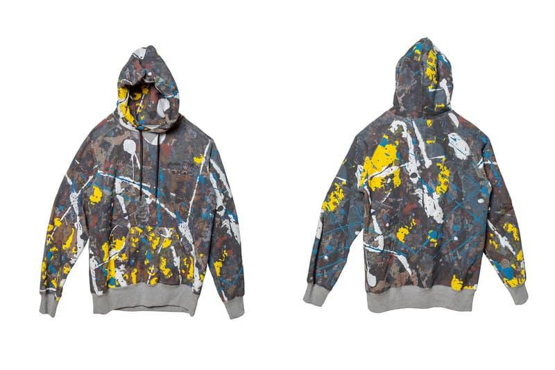 "sacai が""抽象表現主義""アートを代表する Jackson Pollock Studio とのコラボアイテムをリリース"