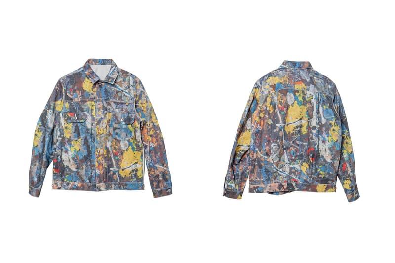 """サカイ x ジャクソン ポロック スタジオ sacai が""""抽象表現主義""""アートを代表する Jackson Pollock Studio とのコラボアイテムをリリース"""