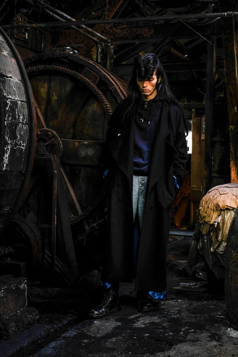SUGARHILL シュガーヒル 2019年秋冬コレクション Black and Blue  ルック ビジュアル