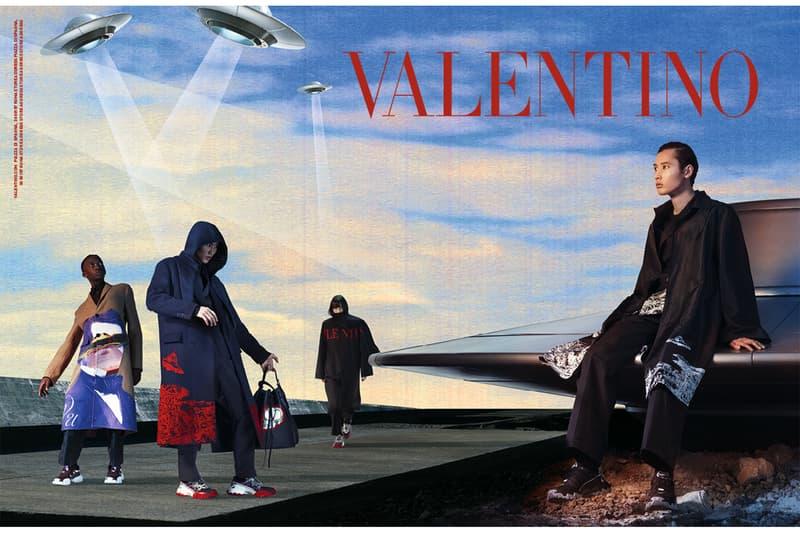 VALENTINO が UNDERCOVER とコラボした2019-20年秋冬メンズの最新キャンペーンビジュアル&コレクションをローンチ