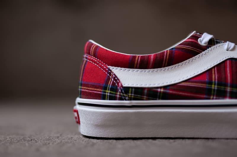 ヴァンズ Vans Bold Ni Tartan Red Green Sneaker Release Information Cop Online Coutie Traditional British Print Old Skool Contemporary Remake Skateboarding