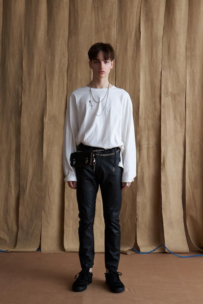 イエスタデイズ トゥモロー YSTRDYS TMRRW Fall Winter 2019 collection lookbook military workwear inspiration menswear jackets pants shirts cot