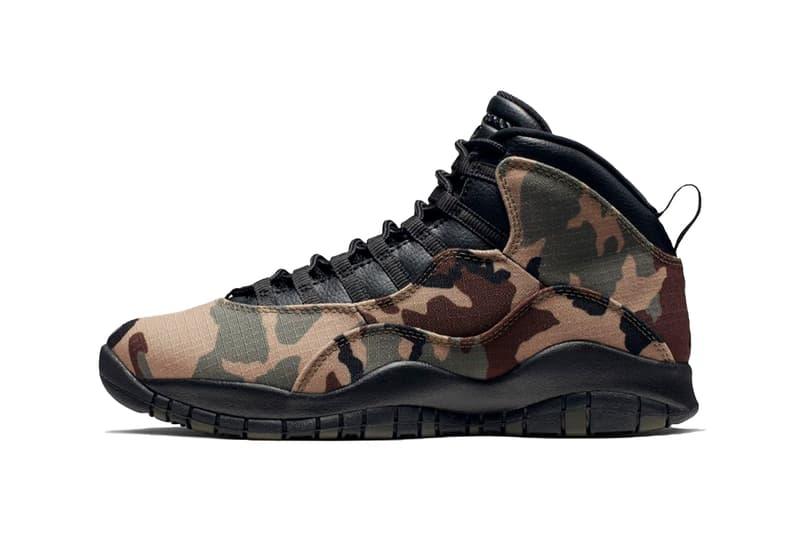 エアジョーダン 10 ウッドランドカモ Air Jordan 10 Woodland Camo ナイキ Nike