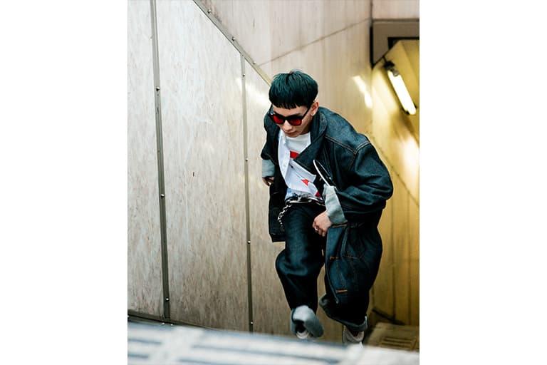 東京 気鋭ブランド ANREALAGE が2019年秋冬コレクションのポップアップを開催 drops FW latest collection pop up store collaboration dickies porters tokyo japan nubian isetan shinjuku paris fashion week installation art street