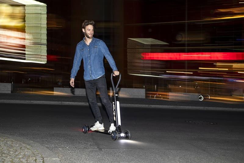 アウディ Audi スケートボード 4輪 電動 スクーター e-Tron Scooter 発表