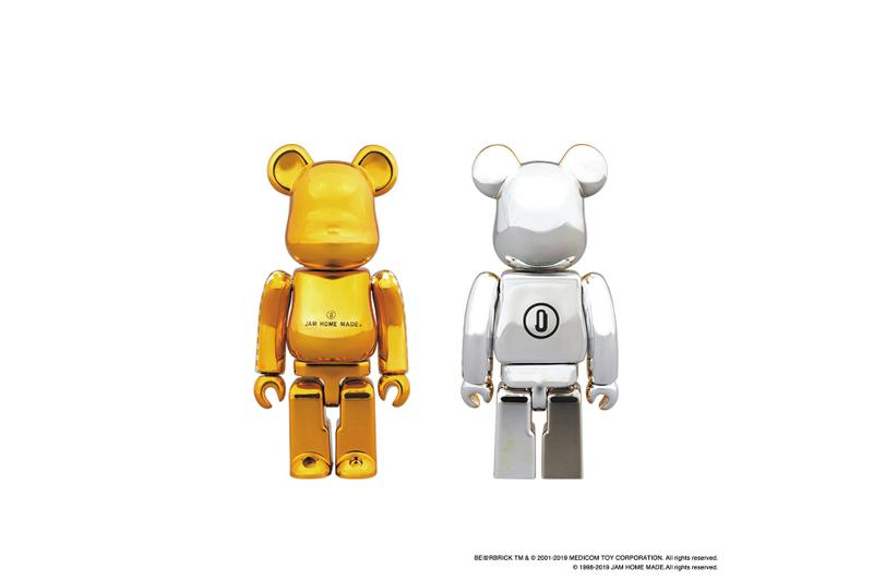 BE@RBRICK ベアブリック and JAM HOME MADE ジャムホームメイド team up again for the new capsule collection tokyo fine jewelry accessories ベアブリック ジャムホームメイド カプセル 第2弾 限定 ゾゾタウン