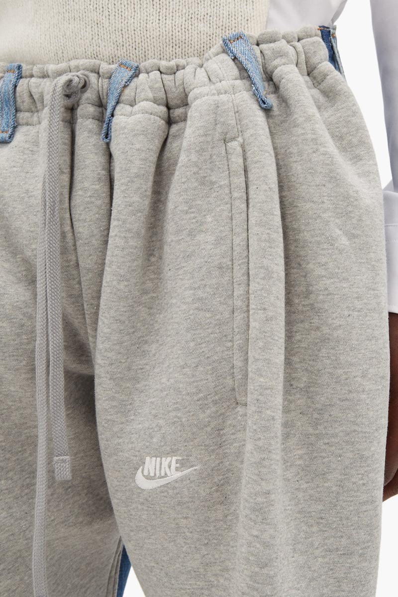 bless no 65 overjogging trackpants blue lightwash denim levis jeans nike sweatpants