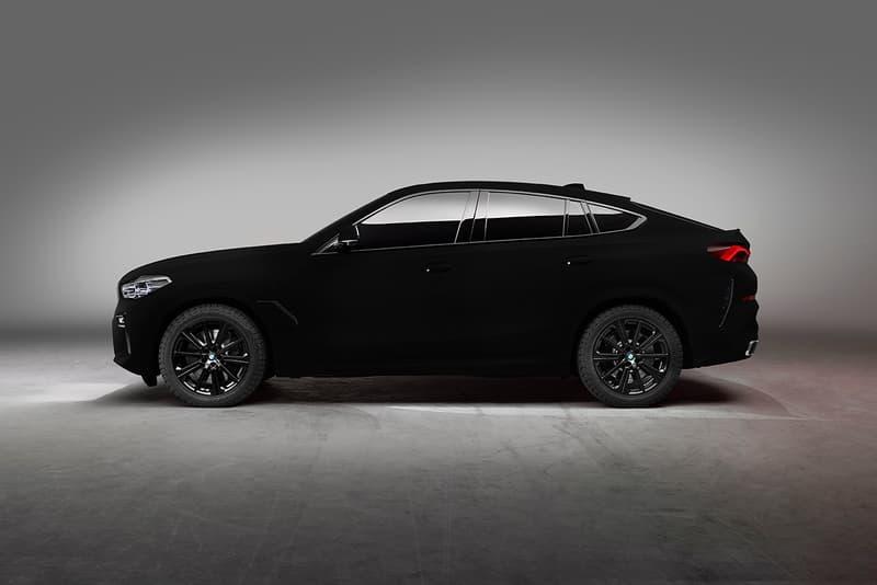 BMW X6 ベンタブラック サリーナノシステムズ スポーツクーペ SUV 公式サイト 市場 販売 購入