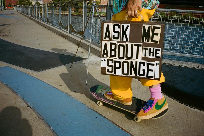 カクタス プラント フリー マーケット ナイキ Cactus Plant Flea Market x Nike Blazer By You Sponge Teaser cpfm chukka mid brown id custom sneakers shoes collaboration