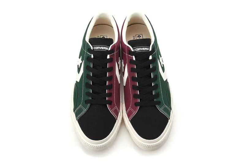 コンバース スケートボディング プロライド Converse CONS Proride SK CV OX Green Black Red Purple Black Navy Release Info 34200110 3420011