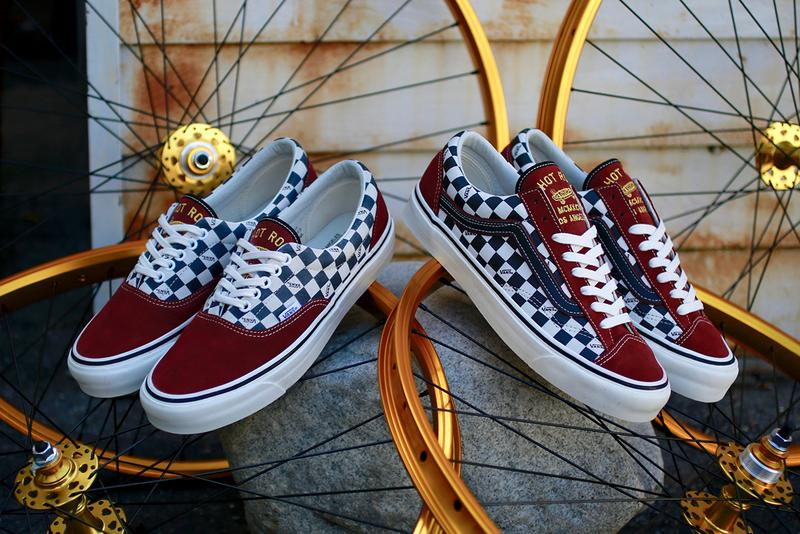 Hot Rod LA First Love Vans Vault Collaboration OG Era LX OG Style 36 LX Release Drop LA Events