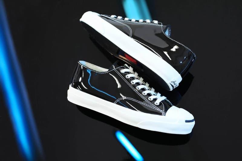 Converse Black Enamel Jack Purcell Release Sneaker Drop