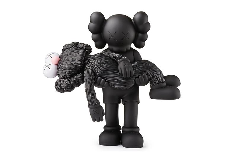 kaws gone companion vinyl figure release artworks sculptures editions collectibles