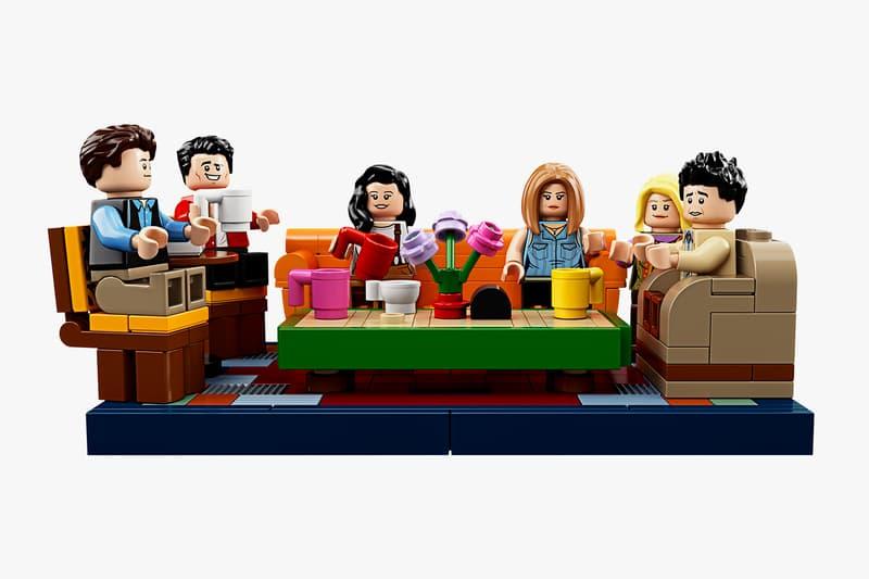 LEGOレゴ Friends 米TVドラマ フレンズ アメリカ Central Perk 90年代  人気 シリーズ TV Set Release Info 90s ジェニファーアニストン テレビ番組 television sitcom ross rachel chandler joe monica gunther toys replica collectibles