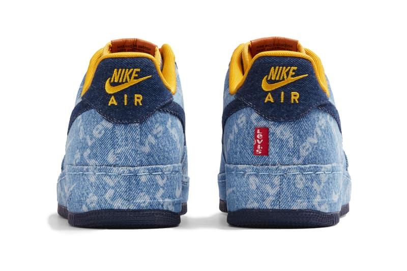 """リーバイス ナイキ 最新コラボ エアフォース1 """"Levi's by Nike"""" Air Force 1 Pack, Customization air max 90 drop release date website august 19 26 2019 available indigo sherpa leather trim fabric corduroy"""