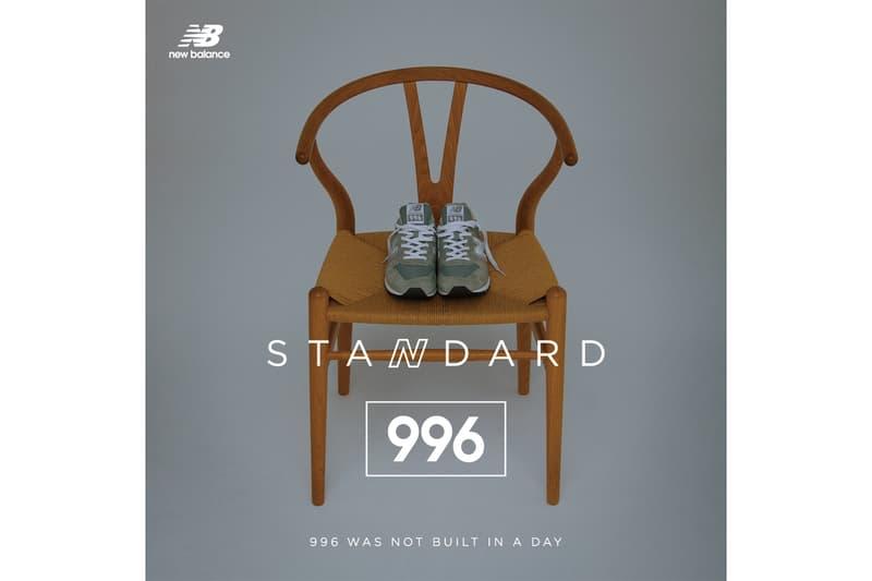 長谷川昭雄 new balance ニューバランス 最新 ビジュアル 996 STANDARD