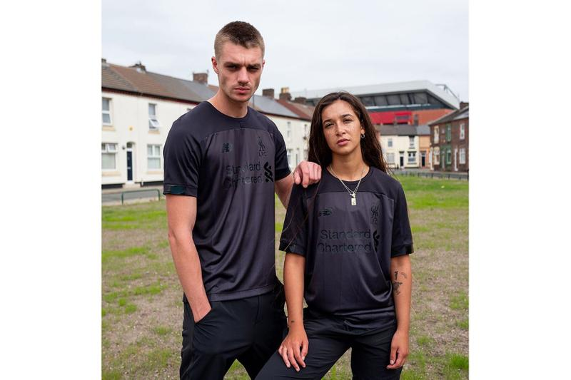 Liverpool Unveils All-Black Limited Edition Kits for 2019/20 new balance football soccer Bob Paisley lookbooks
