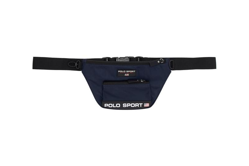 ポロスポーツ Polo Ralph Lauren ポロラルフローレン Sport Bag Collection 90年代 スポーツ バッグ カプセル コレクション Drop Release Information ネイビー ロゴ アメリカ Wallet Belt Navy United States of America USA Duffle Waist Fanny Pack Crossbody Nylon Twill Canvas Tote Bags