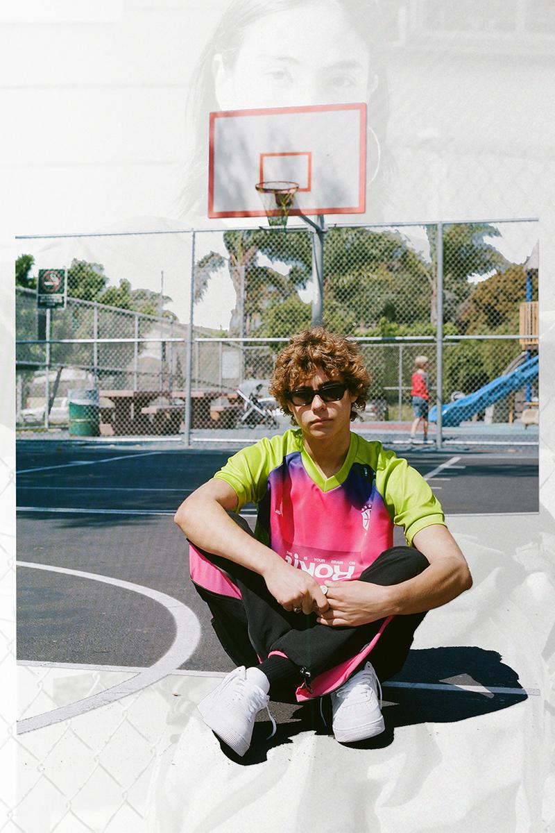 "ROKIT ""Product of True Stories"" Fall Winter 2019 FW19 Lookbook Collection Aidan Cullen Photography Skate Films Basketball Hooping Mixtapes Melter Jacket Lava Jersey"
