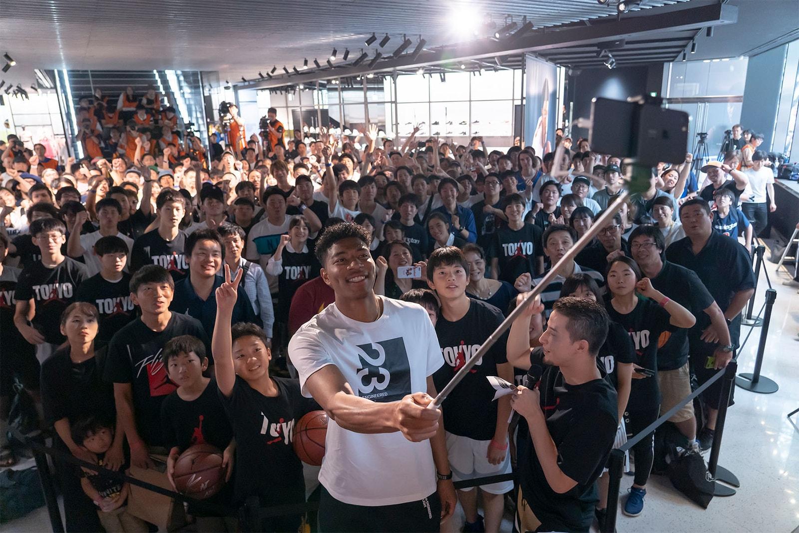 八村塁 Rui Hachimura NBA ウィザーズ ジョーダン Jordan バスケ バスケットボール