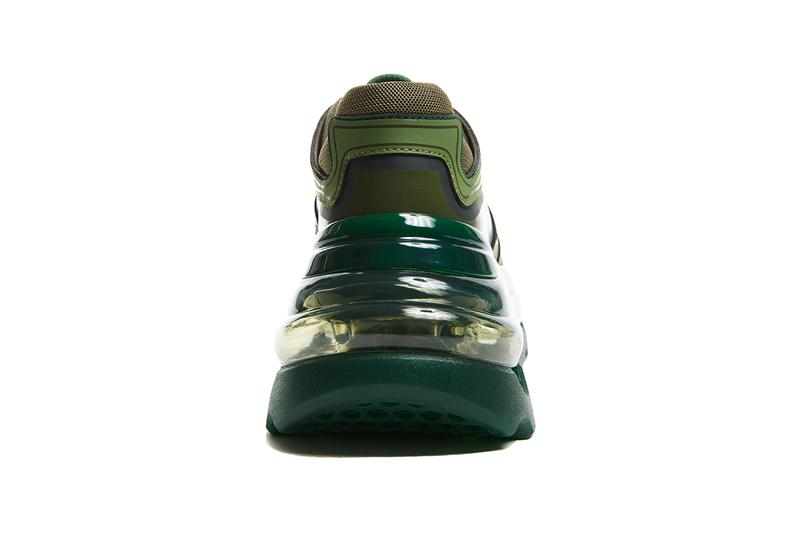 """Shoes 53045 バンプエアー Bump'Air グリーンジャイアント """"Green Giant"""" 新作 スニーカー Sneaker Release Information Cop Online Exclusive Limited Edition Footwear バレンシアガ トリプルS David Tourniaire-Beauciel Balenciaga Triple S"""