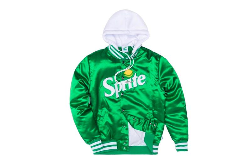 Sprite KITH 2019 Capsule Collaboration First Look Ronnie Fieg Jacket Hoodie T shirt Socks Coca cola Stance