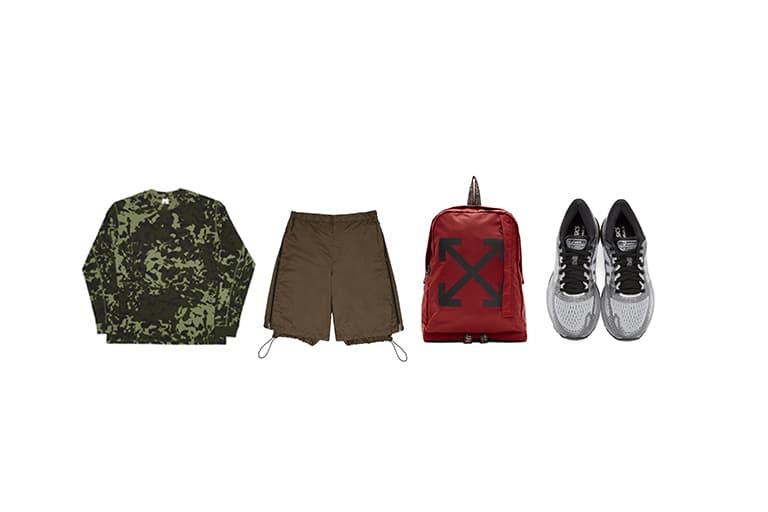 SSENSE picks the latest outdoorsy items 2019 hiking trekking sports athleisure outdoor fashion street style エッセンス 旬 トレッキング アウトドア ファッション ストリート アイテム おすすめ アシックス ワイエス バレンシアガ オフホワイト
