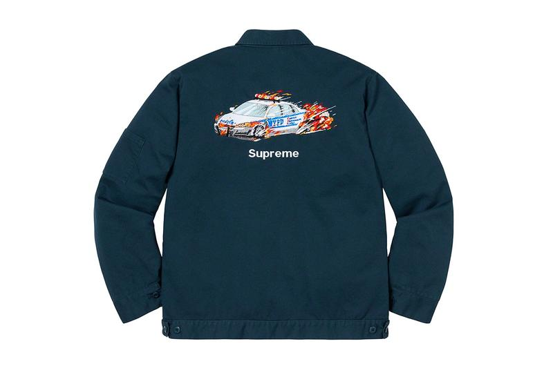 Supreme シュプリーム 葵産業 刺繍 ジャケット パトカー