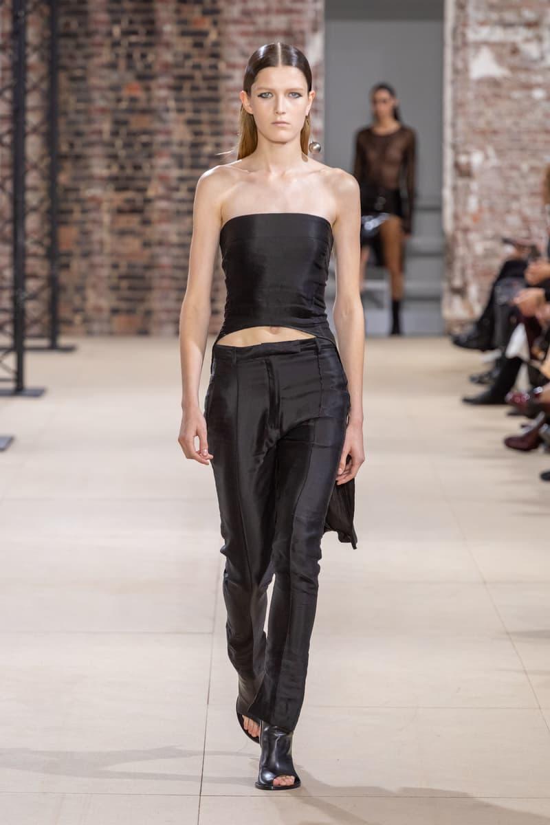 アン ドゥムルメステール Ann Demeulemeester 2020年春夏ウィメンズコレクション パリコレ パリファッションウィーク