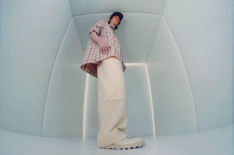 OAMC '90s Grunge Inspired F/W19 Lookbook Fall/Winter 2019 Supreme Jil Sander Luke Meier Trailored Tailoring adidas Originals Latex Gloves