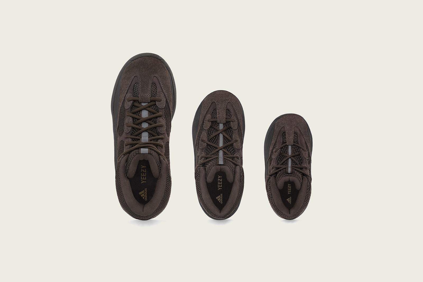 アディダス adidas kanye west カニエ・ウェスト 新作 YZY DSRT BT ファミリーサイズ 初登場