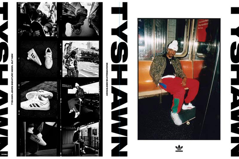 アディダス スケートボーディング adidas Skateboarding がタイショーン・ジョーンズのシグネチャー TYSHAWN の第4弾カラーウェイをリリース