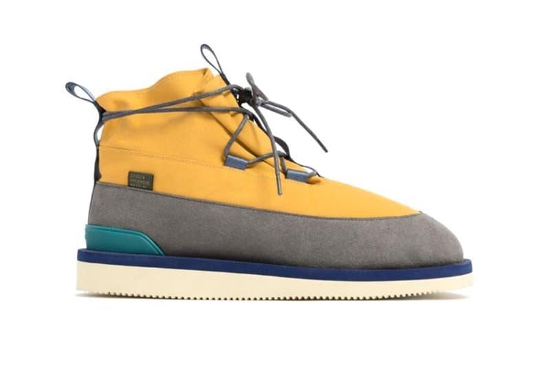 Aimé Leon Dore x Suicoke Hobbs Boots Fall Winter 2019 Collaborations footwear Teddy Santis yellow grey blue grey green all black