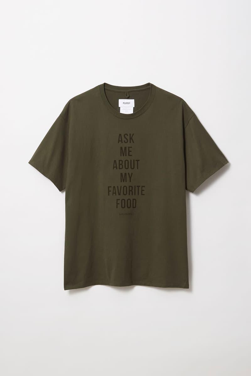 バーニーズ x ダブレット x サローネ2007 Barneys New York が doublet とイタリアンレストラン SALONE2007 とチームアップしたスペシャルTシャツをリリース