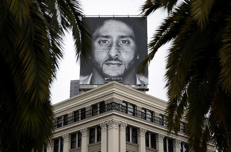Nike Colin Kaepernick Campaign Wins 2019 Creative Arts Emmy Awards Outstanding Commercial Controversial