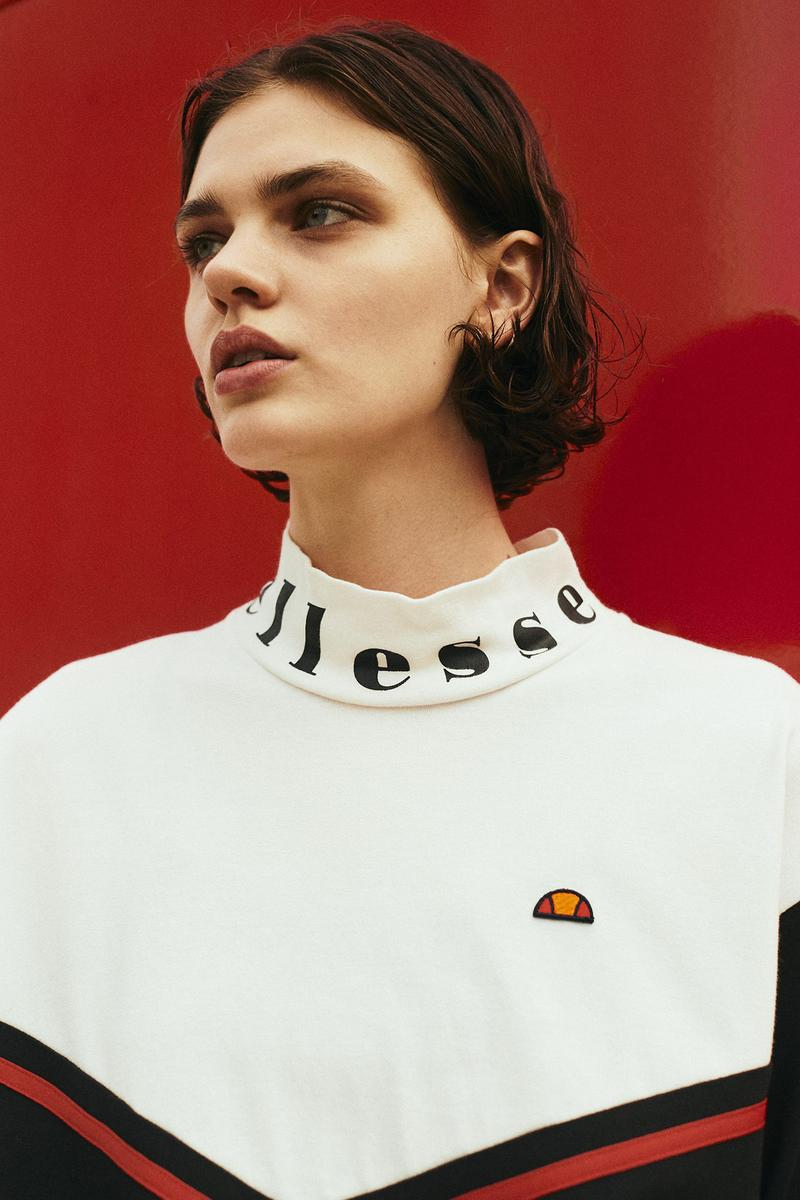 ellesse HERITAGE 2019年秋冬コレクション ルックブック Marc Girardelli ski player inspired collection 1990s 1980s assist footwear revamp lookbook fall winter 2019