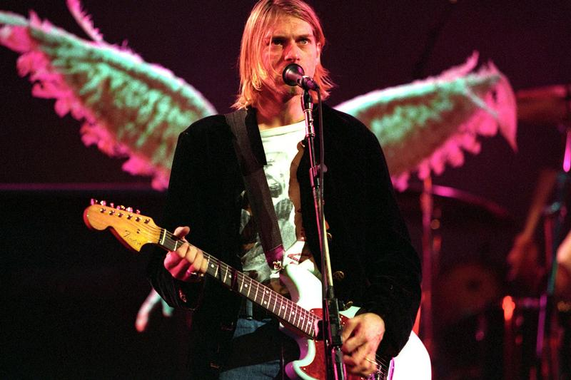 カート・コバーン ニルヴァーナ Kurt Cobain Nirvana Royalty Check Death Record Store Portland