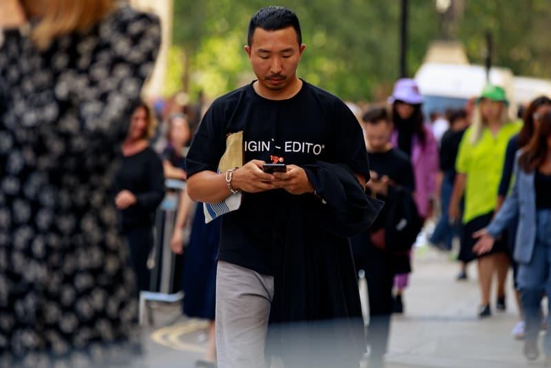 ストリートスナップ :ロンドンファションウィーク2020年春夏 London Fashion Week Spring Summer 2020 Street Style runways catwalks burberry chanel riccardo tisci jorja smith