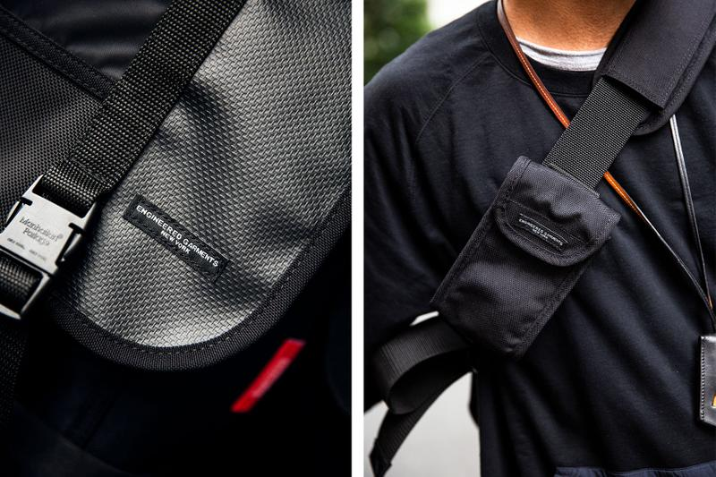 エンジニアド ガーメンツ ピルグリム サーフ サプライ マンハッタン ポーテージ トリプルネーム バッグ メッセンジャーバッグ