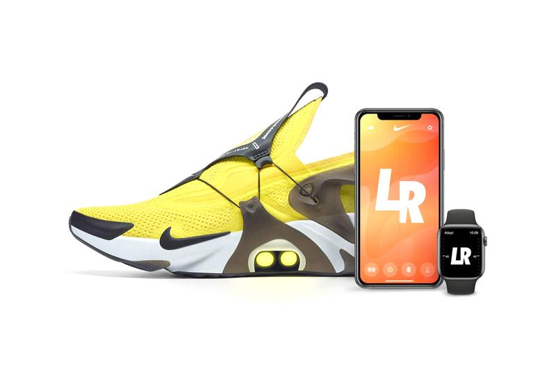 ナイキから自動レーシング機能を搭載したアダプトハラチが登場 nike adapt huarache self lacing sneaker footwear app trainer color led lights options app how it works how to use buy cop purchase downlaod trainer shoe snkrs sneakrs