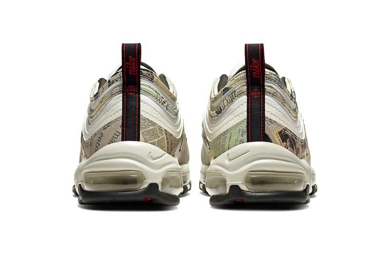 Nike ナイキ Air Max エアーマックス 97 Newspaper ニュースペーパー 英字新聞Release 921826-108