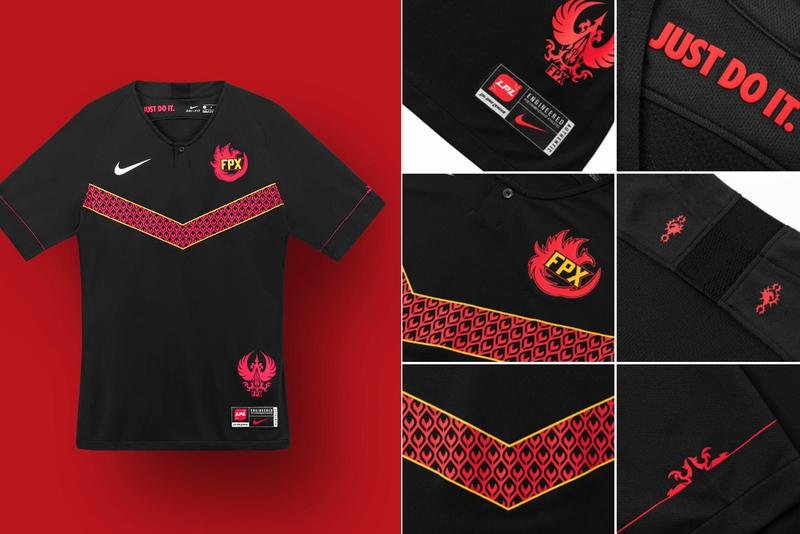 league of legends pro league nike team kits collaborations jerseys