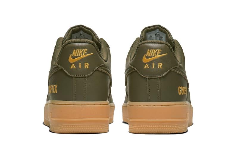 ナイキ エア フォース 1 ゴアテックス Nike Air Force 1 GORE-TEX 発売日 SNKRS