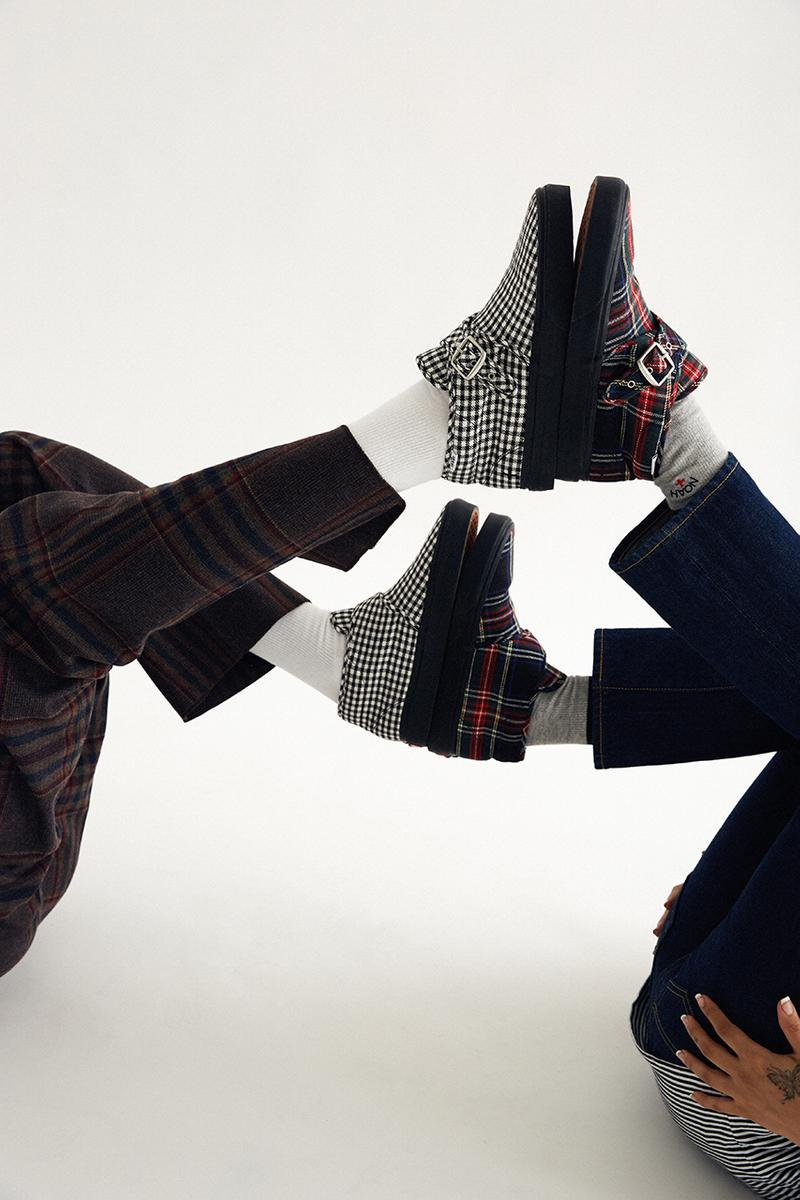 NOAH ノア x ヴァンズ  Vans 秋冬 最新 コラボ Fall/Winter 2019 スニーカー チェッカ ギンガム タータン Sneaker Collaboration style 47 fw19 drop release date info september 12 buy pattern tartan plaid gingham check dogstooth checkerboard