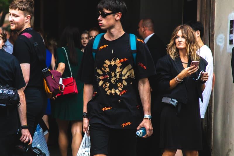 Prague Fashion Week プラハ チェコ スロバキア ストリートStreet Style 春夏 ファッションウィーク Spring Summer 2020 Shows Cross/Phonez Jan Cerny Balenciaga グッチ フェンディ バレンシアガ ディオール Gucci Fendi Dior Heron Preston ラフシモンズ Raf Simons Louis Vuitton