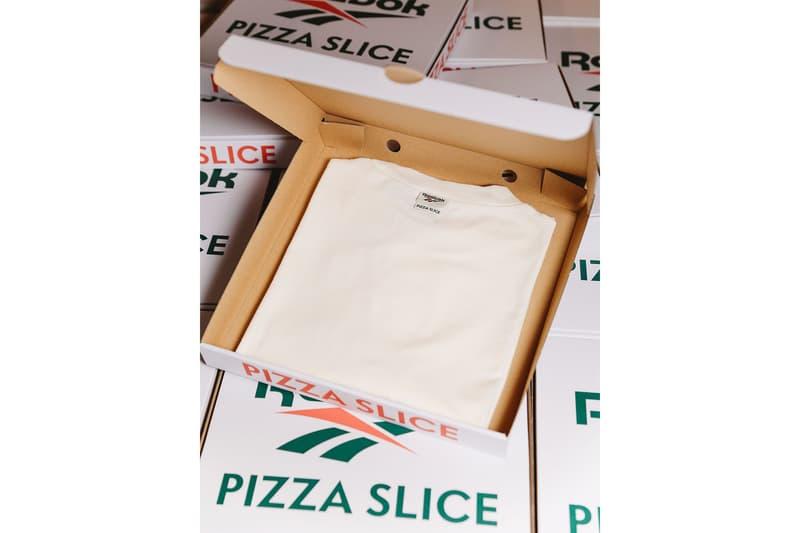 リーボック ピザスライス Reebok CLASSIC が PIZZA SLICE とタッグを組んだコラボTシャツをリリース